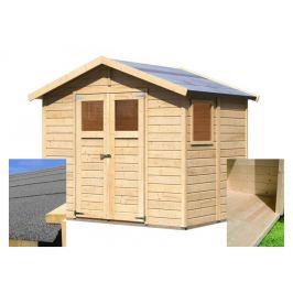 Dřevěný zahradní domek 245 x 180 cm Dekorhome