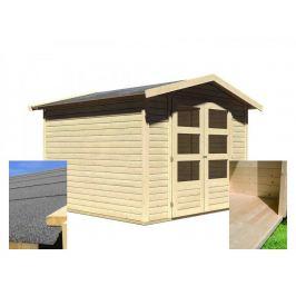 Dřevěný zahradní domek s podlahou 246 x 246 cm Dekorhome