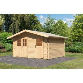 Dřevěný zahradní domek 417 x 327 cm Dekorhome