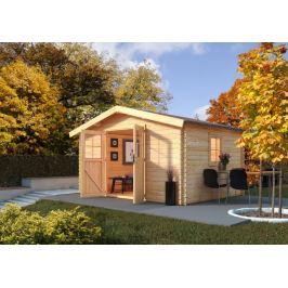 Dřevěný zahradní domek 387 x 387 cm Dekorhome