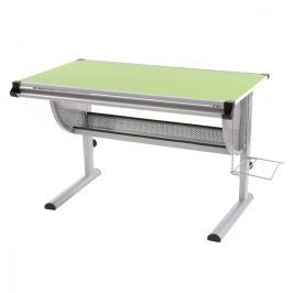 Dětský psací stůl WH6507 zelený Dekorhome