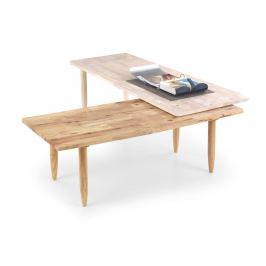 Konferenční stolek BORA BORA přírodní Halmar