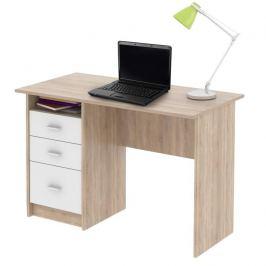 PC stůl, dub sonoma, SAMSON 0000185328 Tempo Kondela