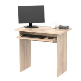 PC stůl, dub sonoma, VERNER NEW 0000185334 Tempo Kondela