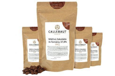 Callebaut Mléčná čokoláda do fontány 37,8 % 1 kg Čokoláda do fontány