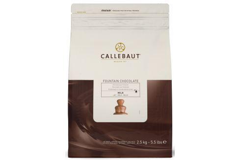 Callebaut Mléčná čokoláda do fontány 2,5 kg Čokoláda do fontány