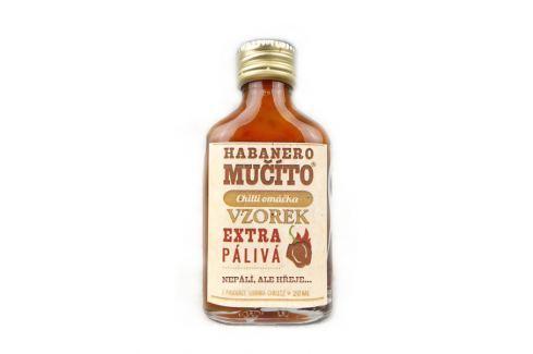 Chilli omáčka Habanero Mučíto extra pálivá 20 ml Chilli omáčky
