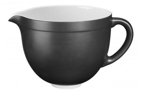 KitchenAid Keramická mísa 5KSMCB matně černá 4,8 l Mísy na těsto