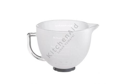 KitchenAid Skleněná mísa 4,83 l 5K5GBF matná Mísy na těsto