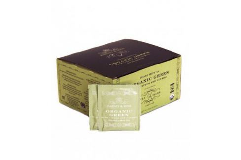 Harney & Sons BIO zelený čaj s citrónovou trávou a ginkgem 50 sáčků Čaje