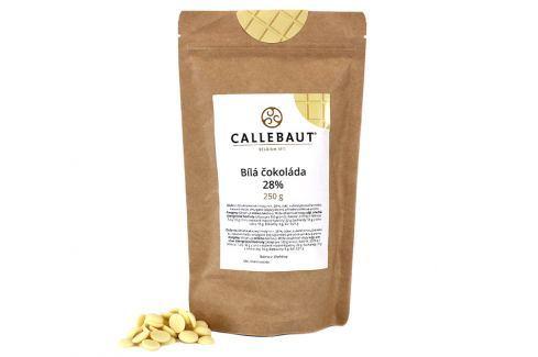 Bílá čokoláda Callebaut 28% 250 g Čokoláda na vaření
