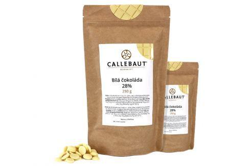 Bílá čokoláda Callebaut 28% 500 g (2 x 250 g) Čokoláda na vaření