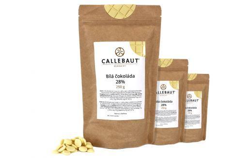 Bílá čokoláda Callebaut 28% 750 g (3 x 250 g) Čokoláda na vaření