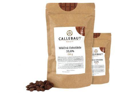 Callebaut Mléčná čokoláda 33,6 % 500 g Čokoláda na vaření