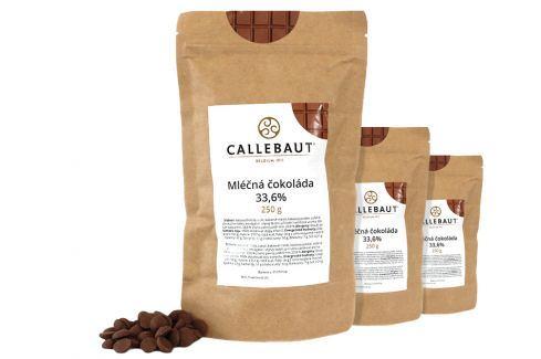 Callebaut Mléčná čokoláda 33,6 % 750 g Čokoláda na vaření