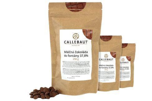 Mléčná čokoláda do fontány Callebaut 37,8% 750 g (3 x 250 g) Čokoláda do fontány
