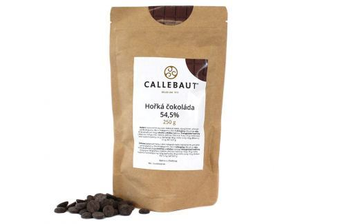 Hořká čokoláda Callebaut 54,5% 250 g Čokoláda na vaření