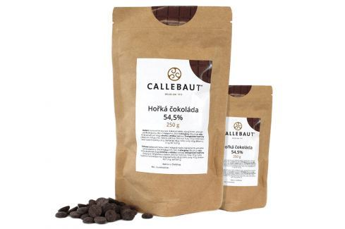 Hořká čokoláda Callebaut 54,5% 500 g (2 x 250 g) Čokoláda na vaření