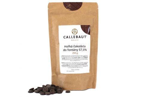 Hořká čokoláda do fontány Callebaut 57,6% 250 g Čokoláda do fontány
