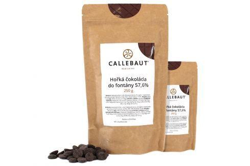 Hořká čokoláda do fontány Callebaut 57,6% 500 g (2 x 250 g) Čokoláda do fontány