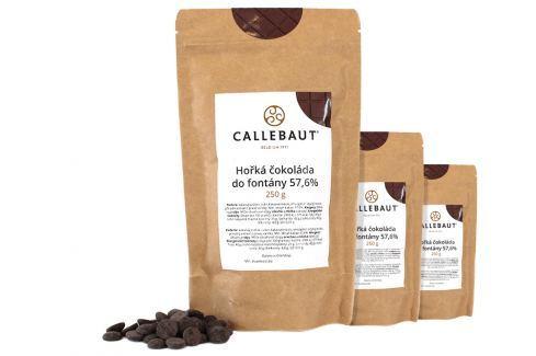 Hořká čokoláda do fontány Callebaut 57,6% 750 g (3 x 250 g) Čokoláda do fontány