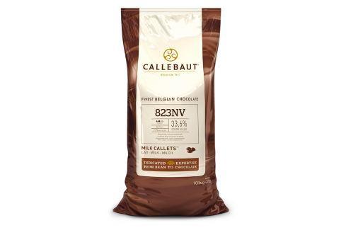 Callebaut Belgická čokoláda Mléčná 10kg Čokoláda na vaření