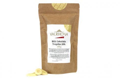 Bílá čokoláda Tropilia Valrhona 26% 250 g Čokoláda na vaření