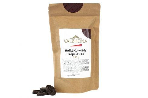 Hořká čokoláda Tropilia Valrhona 53% 250 g Čokoláda na vaření