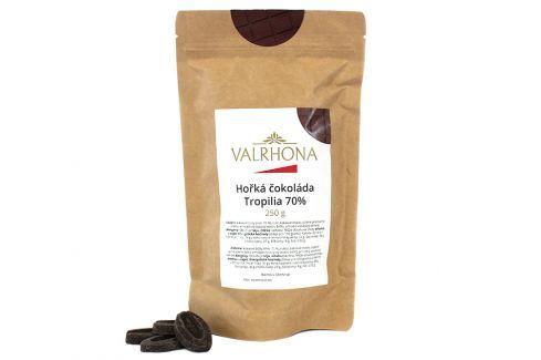 Hořká čokoláda Tropilia Valrhona 70% 250 g Čokoláda na vaření