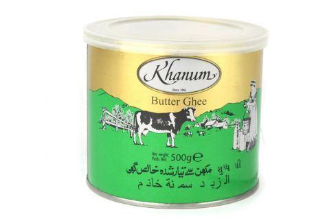 Máslo Ghí Khanum 500 g Ghí máslo