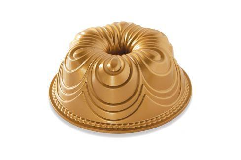 Nordic Ware Forma na bábovku Chiffon, zlatá Formy na bábovku