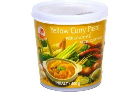 Thajská žlutá kari pasta Cock Brand 400 g Pasty