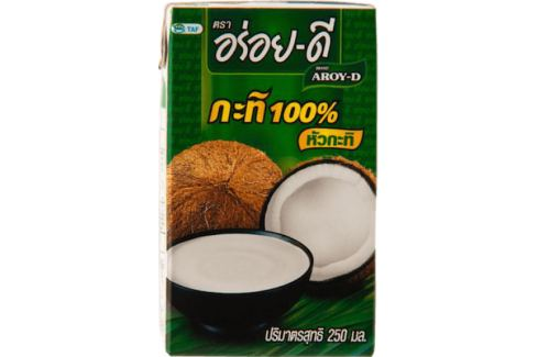 Aroy-D kokosové mléko 250 ml Thajská kuchyně