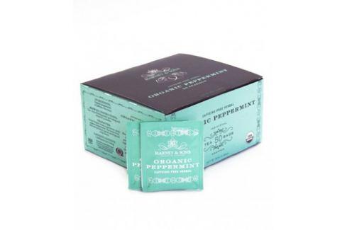 Harney & Sons Peppermint Organický mátový bylinný čaj 50 sáčků Čaje