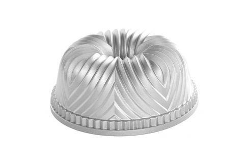 Nordic Ware Forma na bábovku Bavaria stříbrná 2,3 l Formy na bábovku