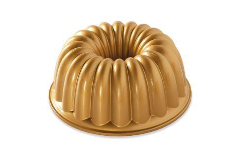 Nordic Ware Forma na bábovku Elegant zlatá 2,3 l Formy na bábovku
