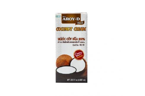 Kokosový krém Aroy-D 1 l  + kód na 10% slevu: LETO10 Thajská kuchyně