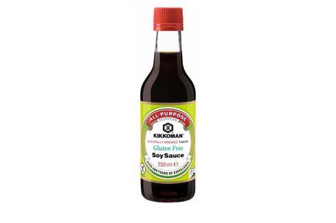 Sójová omáčka bez lepku a glutamátu Kikkoman 250 ml Asijské potraviny