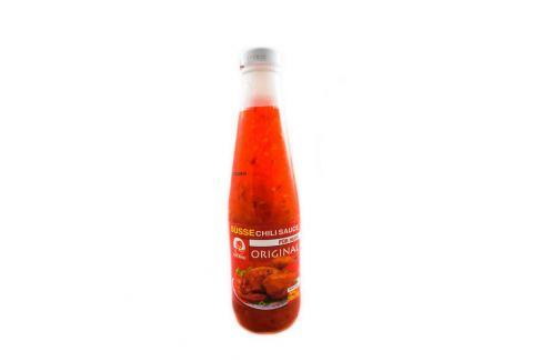Sladká chilli omáčka na kuře Cock Brand 290 ml Asijské potraviny
