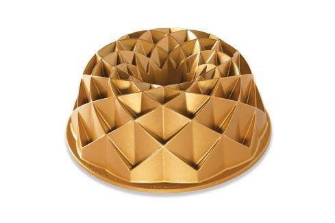 Nordic Ware Forma na bábovku Jubilee zlatá 2,3 l Formy na bábovku