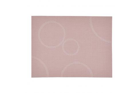 Zone Prostírání s kruhy růžová 40 x 30 cm Prostírání