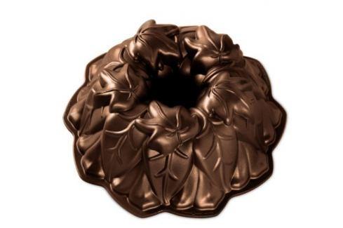 Nordic Ware Forma na bábovku Podzimní listy tmavá měď 24 cm 2,1 l Formy na bábovku
