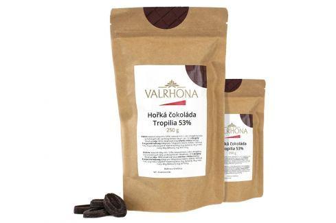 Hořká čokoláda Tropilia Valrhona 53% 500 g (2 x 250 g) Čokoláda na vaření