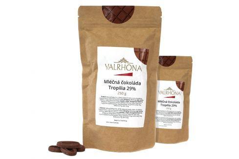 Mléčná čokoláda Tropilia Valrhona 29% 500 g (2 x 250 g) Čokoláda na vaření