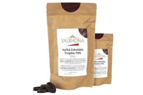 Hořká čokoláda Tropilia Valrhona 70% 500 g (2 x 250 g) Čokoláda na vaření