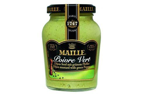 MAILLE Hořčice se zeleným pepřem 200 ml Hořčice