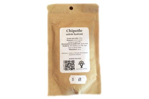 Koření Chipotles mleté 50 g Chilli koření