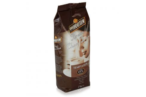 Horká čokoláda Van Houten Temptation s 21 % kakaa 1kg Kakao a horká čokoláda