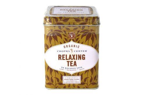 Harney & Sons Relaxing Relaxační organický bylinný čaj Chopra 20 sáčků v plechové krabičce Ovocné a bylinné čaje
