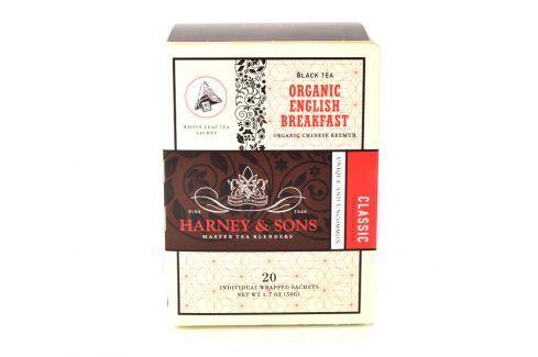 Harney & Sons English Breakfast Organický černý čaj 20 sáčků Černé čaje
